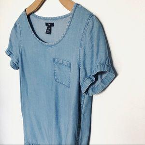 Gap chambray pocket T-shirt